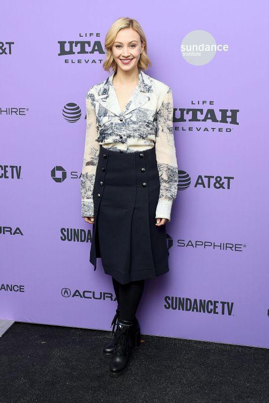 SARAH GADON at Black Bear Premiere at 2020 Sundance Film Festival 01/24/2020