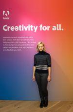 SARAH GADON at Indiewire Sundance Studio Presented by Dropbox in Park City 01/25/2020