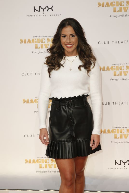 SARAH LOMBARDI at Magic Mike Live Premiere 01/16/2020