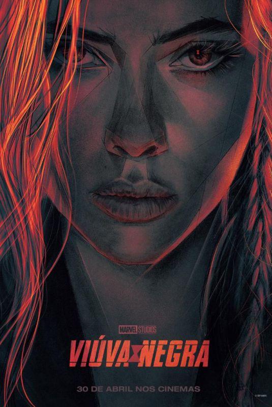 SCARLETT JOHANSSON – Black Widow Posters and Trailers, 2020