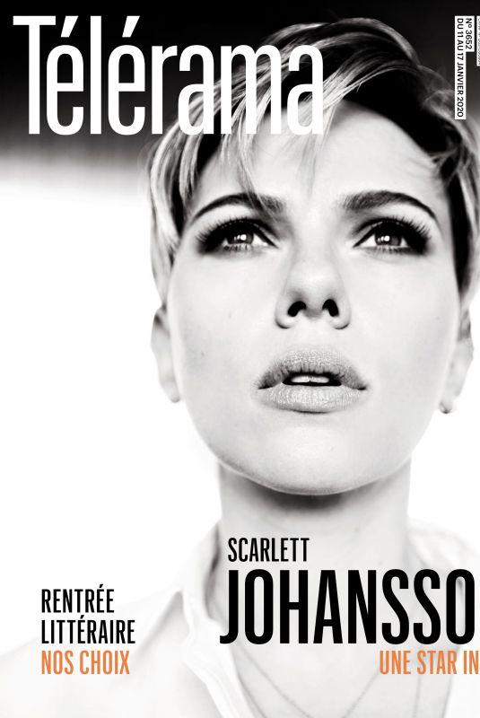 SCARLETT JOHANSSON in Telerama Magazine, France January 2020