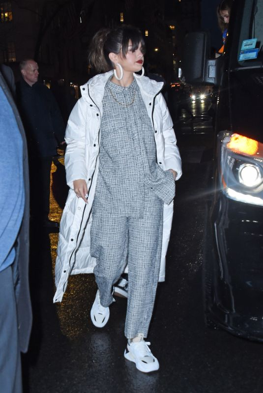 SELENA GOMEZ Arrives at Her Rare Album Release Party in New York 01/14/2020