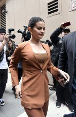 SELENA GOMEZ Arrives at Live with Kelly and Ryan in New York 01/13/2020