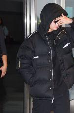 SELENA GOMEZ at JFK Airport in New York 01/12/2020
