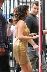 SELENA GOMEZ on the Set of Her New Music Video in Los Angeles 01/28/2020