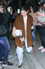 SELENA GOMEZ Out and About in Los Angeles 01/12/2020