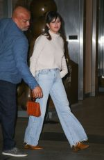 SELENA GOMEZ Out for Dinner at Nobu in New York 01/13/2020