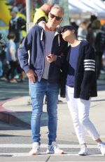 SELMA BLAIR and David Lyons Out for Lunch in Studio City 01/12/2020