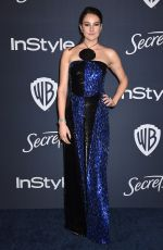SHAILENE WOODLEY at Instyle and Warner Bros. Golden Globe Awards Party 01/05/2020