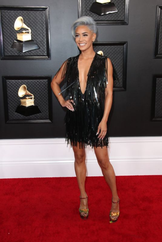 SIBLEY SCOLES at 62nd Annual Grammy Awards in Los Angeles 01/26/2020