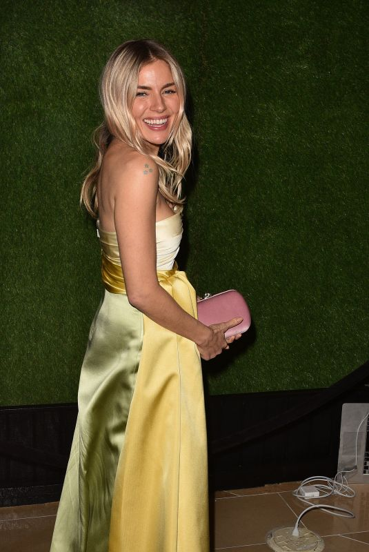 SIENNA MILLER at Amazon Studios Golden Globes After-party 01/05/2020