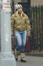 SIENNA MILLER Out and About in New York 01/13/2020