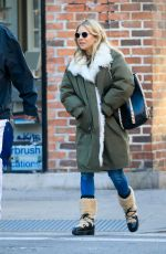SIENNA MILLER Out in New York 01/21/2020