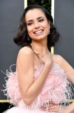 SOFIA CARSON at 77th Annual Golden Globe Awards in Beverly Hills 01/05/2020