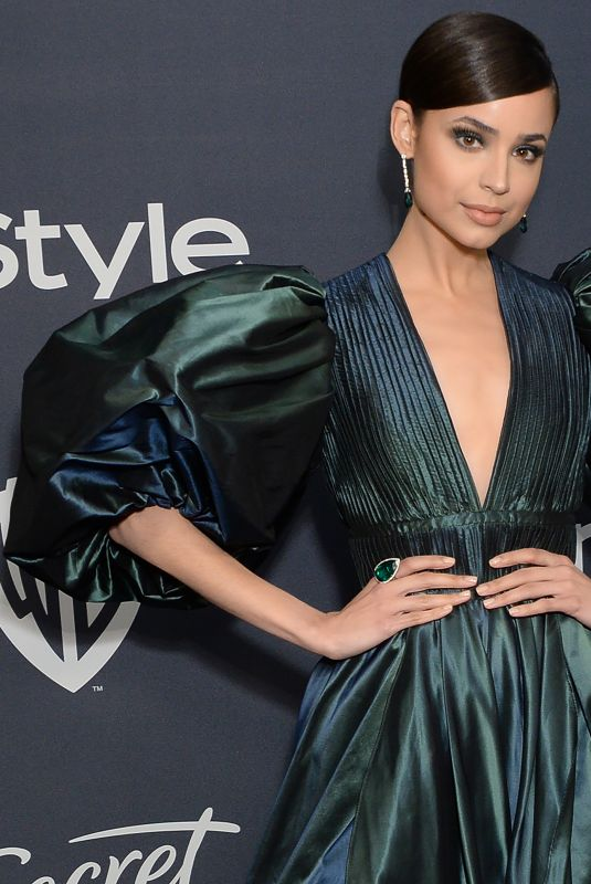 SOFIA CARSON at Instyle and Warner Bros. Golden Globe Awards Party 01/05/2020