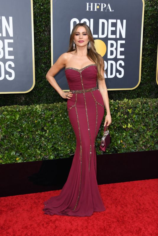 SOFIA VERGARA at 77th Annual Golden Globe Awards in Beverly Hills 01/05/2020