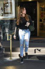 SOFIA VERGARA Leaves Saks Fifth Avenue in Beverly Hills 01/17/2020