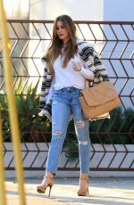 SOFIA VERGARA Out at Kreation Organic in Beverly Hills 01/13/2020