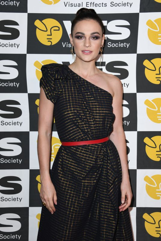SOPHIE SKELTON at 18th Annual Visual Effects Society Awards in Beverly Hills 01/29/2020