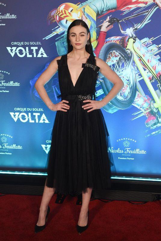 SOPHIE SKELTON at Cirque Du Soleil's Volta Premiere in Los Angeles 01/21/2020