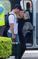 SOPHIE TURNER and Joe Jonas at Airport in Miami 01/04/2020
