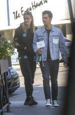 SOPHIE TURNER and Joe Jonas at Sweet Butter in Los Angeles 01/22/2020