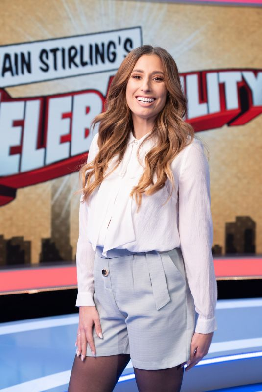 STACEY SOLOMON at CelebAbility TV Show 01/16/2020