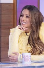 STACEY SOLOMON at Loose Women Show in London 01/30/2020