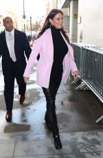 STEPHANIE MCMAHON Arrives at BBC Studio in London 01/15/2020