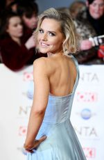 STEPHANIE WARING at National Television Awards 2020 in London 01/28/2020