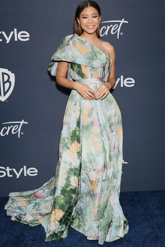 STORM REID at Instyle and Warner Bros. Golden Globe Awards Party 01/05/2020