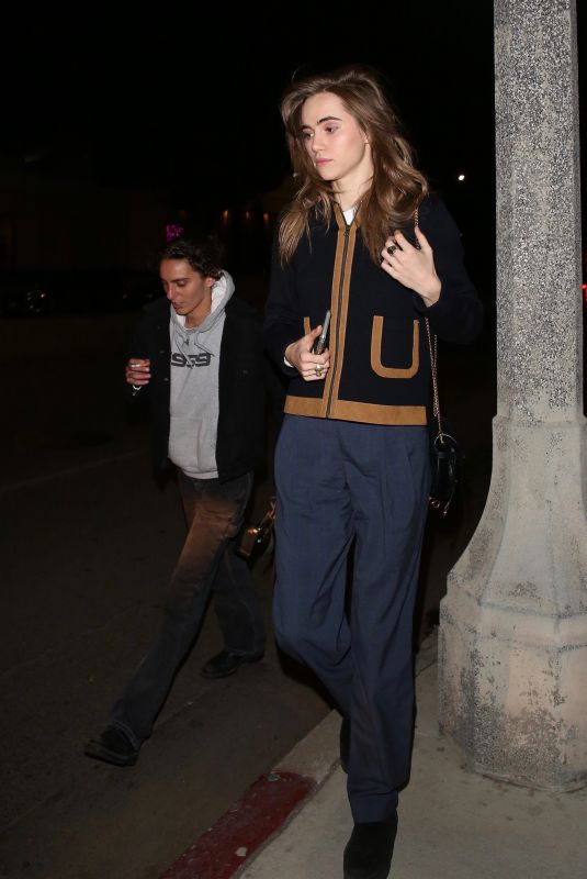SUKI WATERHOUSE Night Out in Beverly Hills 01/08/2020