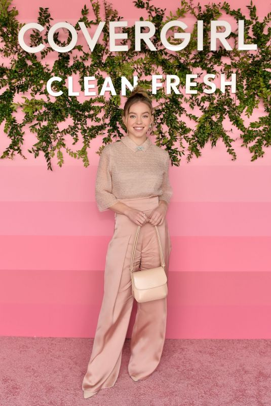 SYDNEY SWEENEY at CoverGirl Clean Fresh Launch Party in Los Angeles 01/16/2020