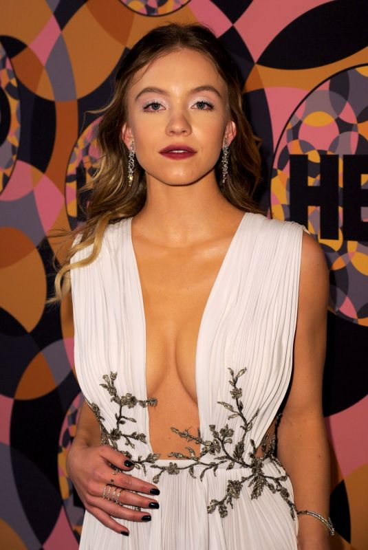 SYDNEY SWEENEY at HBO Golden Globes After-party 01/05/2020