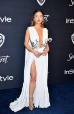 SYDNEY SWEENEY at Instyle and Warner Bros. Golden Globe Awards Party 01/05/2020