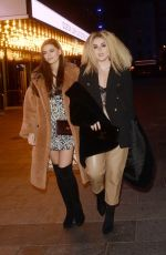 TALLIA STORM and EMILY CANHAM Leaves Top Gear Series 28 TV Premiere in London 01/20/2020
