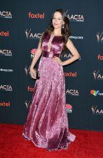 TAMMIN SURSOK at 9th Aacta International Awards in West Hollywood 01/03/2020