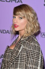 TAYLOR SWIFT at Miss Americana Premiere in Park City 01/23/2020
