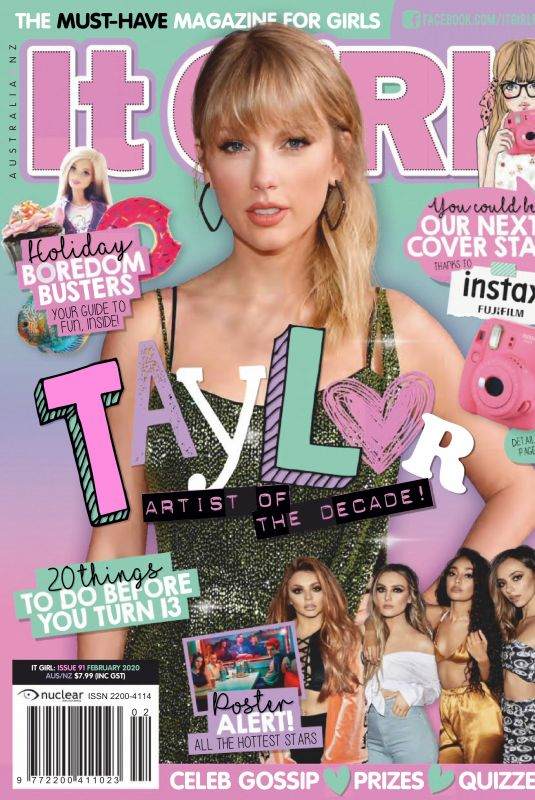 TAYLOR SWIFT in It Girl Magazine, February 2020