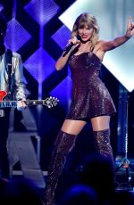 TAYLOR SWIFT Performs at Iheartradio Jingle Ball at Madison Square Garden in New York 12/31/2019