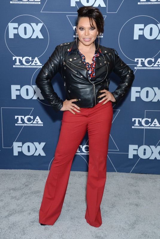 TISHA CAMPBELL at Fox TCA All Star Party in Pasadena 01/07/2020