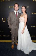 TROIAN BELLISARIO and Patrick J. Adams at Amazon Studios Golden Globes After-party 01/05/202