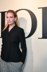 UMA THURMAN at Dior Haute Couture Spring/Summer 2020 Show at Paris Fashion Week 01/20/2020