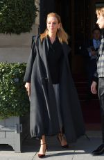 UMA THURMAN Leaves Ritz Hotel in Paris 01/20/2020