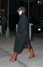 VANESSA HUDGENS Arrives at Madison Square Garden in New York 01/22/2020