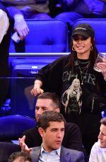 VANESSA HUDGENS at LA Lakers vs New York Knicks Game at Madison Square Garden in New York 01/22/2020