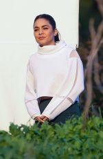 VANESSA HUDGENS Filming a Sportswear Commercial in Los Angeles 01/16/2020