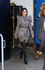 VANESSA HUDGENS Leaves Good Morning America in New York 01/17/2020