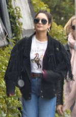 VANESSA HUDGENS Out for Breakfast in Los Feliz 01/16/2020