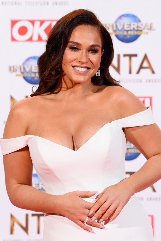 VICKY PATTISON at National Television Awards 2020 in London 01/28/2020